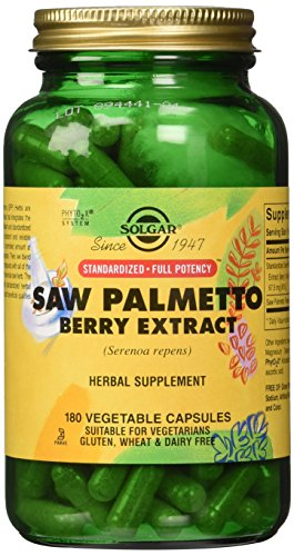 Cheap Solgar – Standardized Full Potency Saw Palmetto Berry Extract, 180 Vegetable Capsules