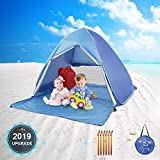 Best Beach Tents For Babies - MOICO UV-Proof Pop up Beach Tent,Sun Shelter Tents,Pop Review