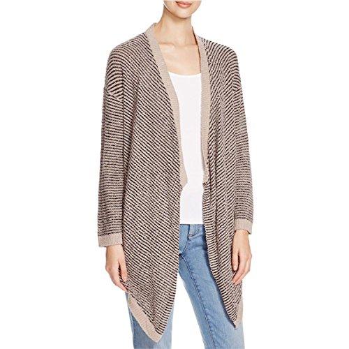 Eileen Fisher Womens Boucle Organic Cotton Cardigan Sweater Ivory (Eileen Fisher Wool Cardigan)