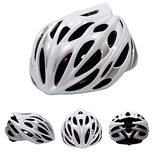 HUOFEIKE Bike Cycle Cycling Helmet 55-59Cm Lightweight Skate Road Cycling Racing Helmet Specialized for Mens Womens Protection Road Helmet with Sport Headband,CT (Best Motorcycle Riding Roads In Ct)