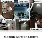 3PCS Motion Sensor Light Battery-Powered LED Night