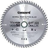 Concord Blades WCB0650T060HP 6-1/2-Inch 60 Teeth TCT General Purpose Hard & Soft Wood Saw Blade