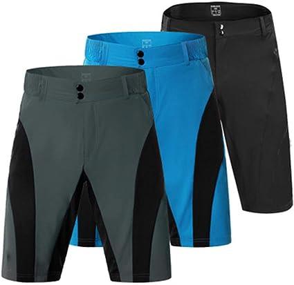 ZXCV Pantalones Cortos de Ciclismo para Hombres Pantalones Cortos ...