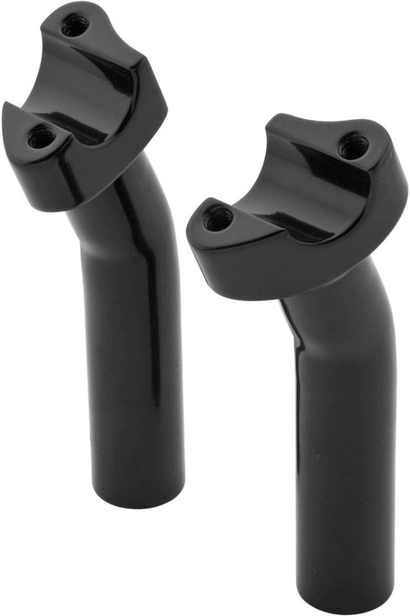4.5 Bikers Choice Round Shoulder Pullback Risers Black