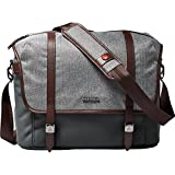 Manfrotto MB LF-WN-MM camera messenger bag for DSLR Lifestyle Windsor M, grey