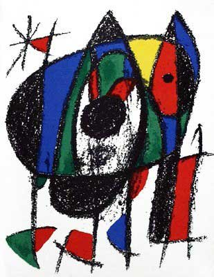 Joan Miro - Original Lithograph V From Miro Lithographs II, Maeght Publisher by Joan
