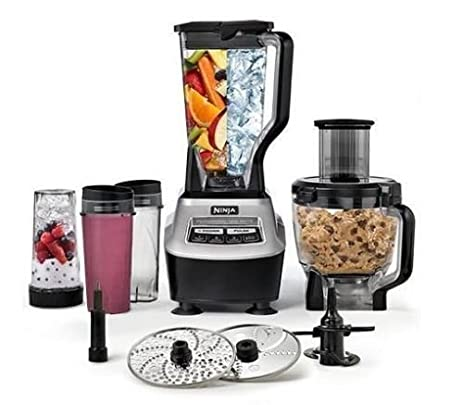 Amazon.com: Ninja BL773CO Mega Kitchen System 1500 Food Processor ...