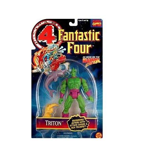 Fantastic Four Triton Action Figure Fantastic Four 4 Series Figure