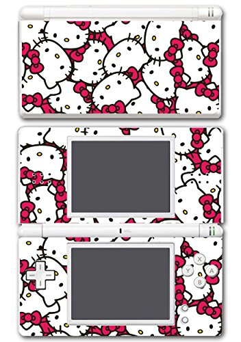 Hello Kitty Cute Faces Video Game Vinyl Decal Skin Sticker Cover for Nintendo DS Lite System