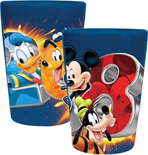 Disney 2018 Four Sparks Mickey Goofy Donald Pluto Ceramic Co