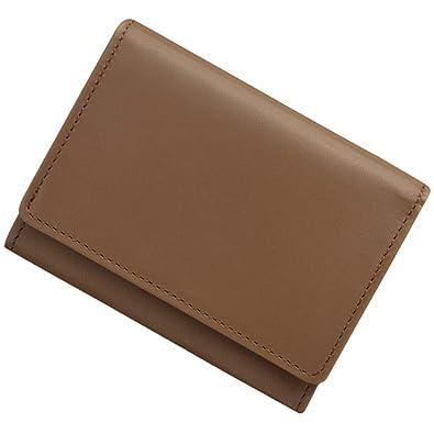 b9fa4c1a99a2 Amazon   極小財布 InRed別注モデル「カウハイドグレージュ」 BECKER ...