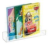 NIUBEE Acrylic Invisible Floating Bookshelf 16.5