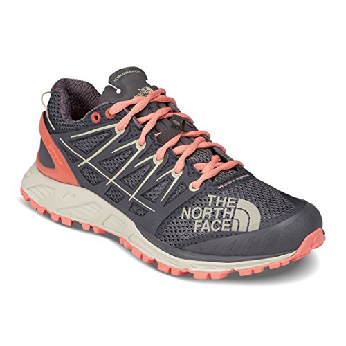 Cheap The North Face Ultra Endurance II Women | Blackened Pearl/Desert Flower Orange (NF0A39IF) (8-Women)
