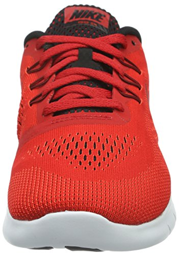 Nike Unisex-Kinder Free Run Laufschuhe Rot (University Red/Black-White)