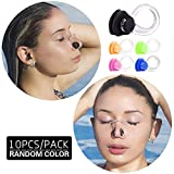 Linwnil Waterproof Silica Gel Swimming Nose Clip