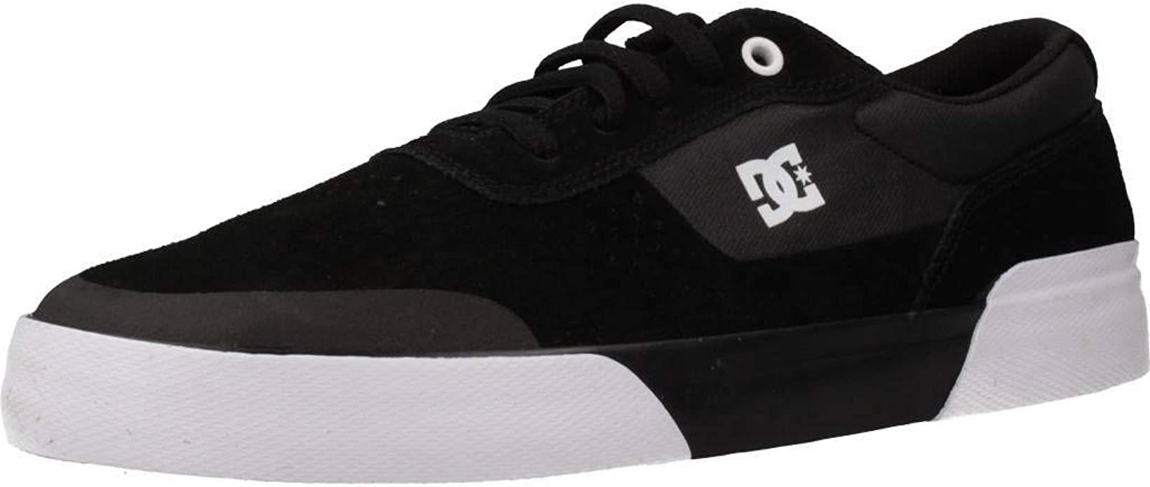 DC Shoes Switch Plus S Sneakers Herren Schwarz Weiß