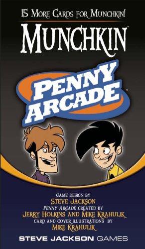 Steve Jackson Games Munchkin Penny Arcade (Penny Arcade Game Board)