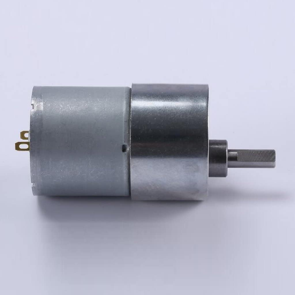 20RPM Homyl 1 Piece Engine Electronic Gear Replacement Terminal Connector 37gb-3530 12v Dc Silver