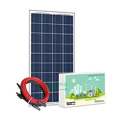 Unlimited Solar P2 Series 160 Watt 12 Volt Off-Grid Solar Panel Kit