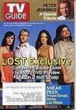 TV Guide August 28 2005 Lost Guide, Peter Jennings, Prison Break, Rome