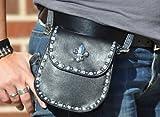 That's A Wrap!® Belt Bag-Fleur de Lis Studded Belt Bag. 980999, Bags Central