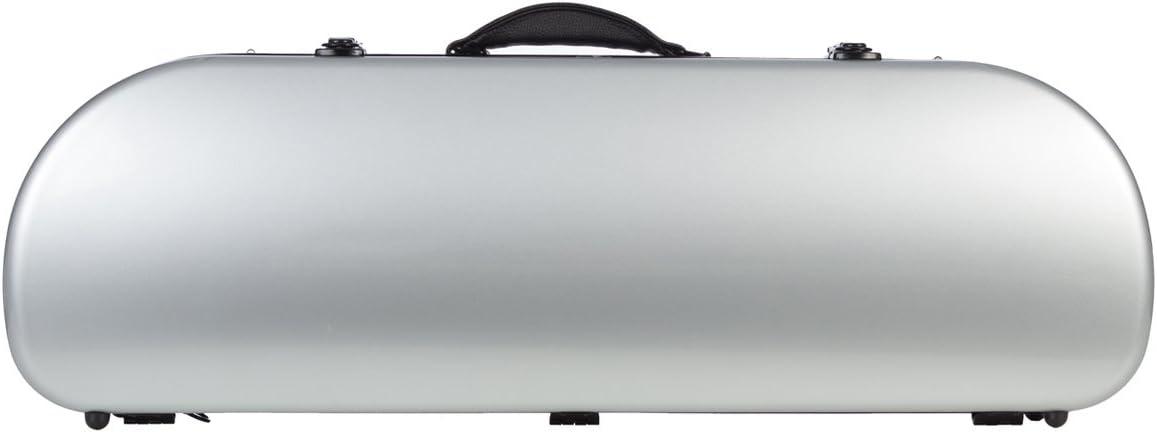 Estuche para violín fibra Street 4/4 Plata M-Case + music bag: Amazon.es: Instrumentos musicales