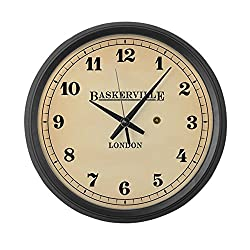 CafePress - Station Wall Clock - Large 17 Round Wall Clock, Unique Decorative Clock