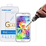 Poweradd Tempered Glass Screen Protector for Samsung Galaxy S5 - Retail Packaging