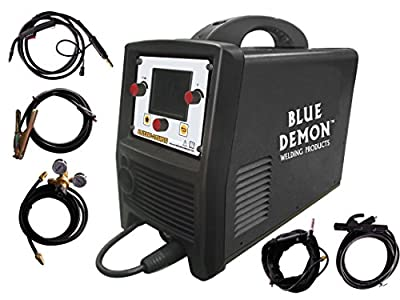 Blue Demon BLUEARC-TRIFECTA 3 Process, Dual Voltage 115/230V Inverter Welding Machine, , Black