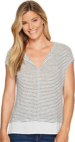Sanctuary Women's City Remix Tee Light Dune/Black T-Shirt (T-shirt Light Womens City)