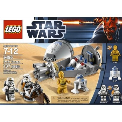 Lego Star Wars Droid Escape 9490 Star Wars Droid Escape 9490 parallel import goods