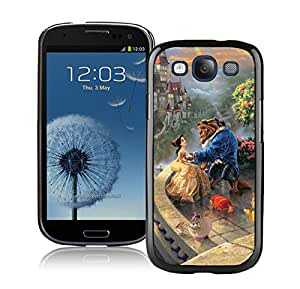 Beautiful And Durable Designed Case For Samsung Galaxy S3 I9300 With Beauty and the Beast Black Phone Case