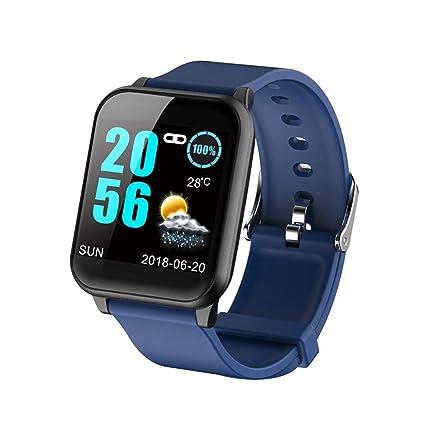 Teepao Smartwatch Inteligente Digital Sport Smart Watch Podómetro para Teléfono Reloj de Pulsera Hombres Mujeres Reloj