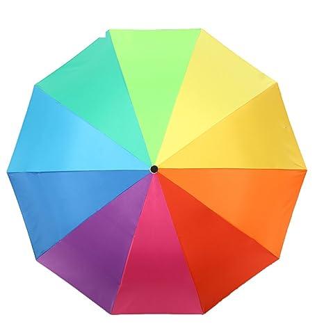 Sombrillas/paraguas de arco iris/paraguas de protecci¨®n de rayos uv
