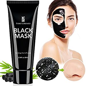 Blackhead Remover, Black Mask, Peel Off Mask, Charcoal Mask, Blackhead Peel Off Mask 1 tube 60 …