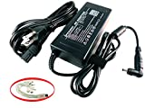 iTEKIRO Laptop Charger AC Adapter for Fujitsu Stylistic Q572, Q665, Q702, Q704, Q736, Q775, R726 Tablet PC; Fujitsu ADP-65MD B, CP500575-01, CP500633-01, CP500637-01, FMV-AC327A, FMV-AC342B, FPCAC141AP, FPCAC141C, FPCAC163, FPCAC163AP + 10-in-1 USB Charging Cable