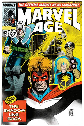 Marvel Age #62 Shadow Line Saga | Walt Simonson (Marvel, 1988) NM
