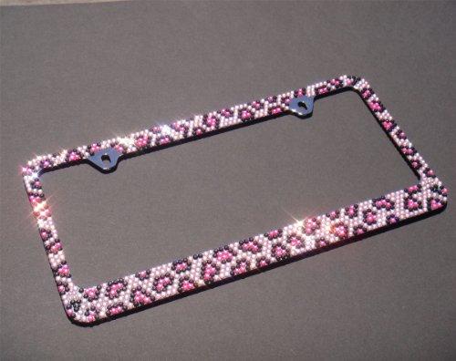 Amazon.com: JR2 Premium Bling Pink/Black Leopard(Pink Cap-A Type ...