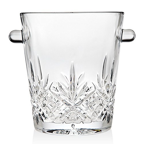 Godinger Dublin Crystal Ice Bucket (5 inches (High Ice Bucket)