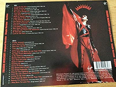 Freddy Mercury - Original Version-Single Version-Rarities