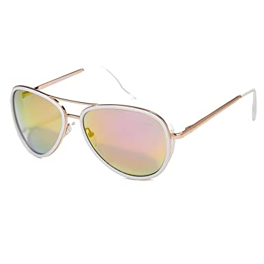 Amazon.com: Sunglasses Women Vintage Fashion Coating Sun ...
