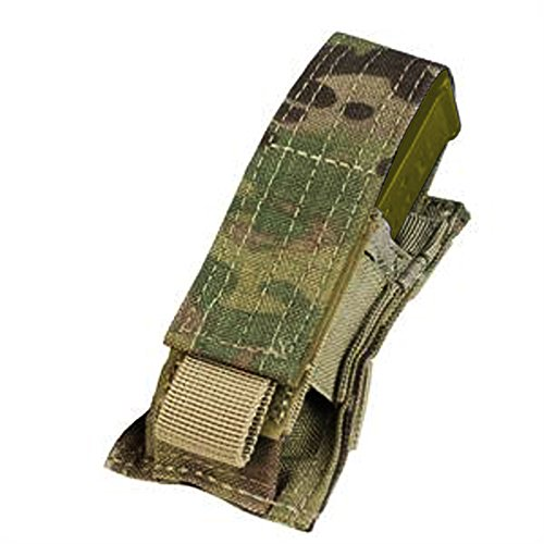 Condor Single Pistol Magazine Pouch MultiCam Single Replacement Flap