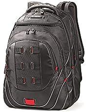 """Samsonite Tectonic 17"""" Pft Backpack Black/Red"""