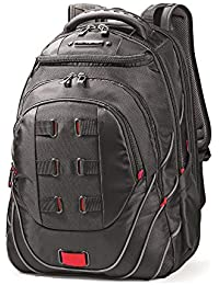 Luggage Tectonic Backpack, Black/Red