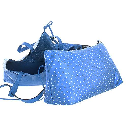 Ribbon 38 Star Blu Ct557 Nbsp;cm Shopper Chiarini Gianni jcR4AqL35