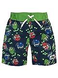 Pj Masks Boys Catboy Owlette & Gekko Swim Shorts Multicolored Size 5