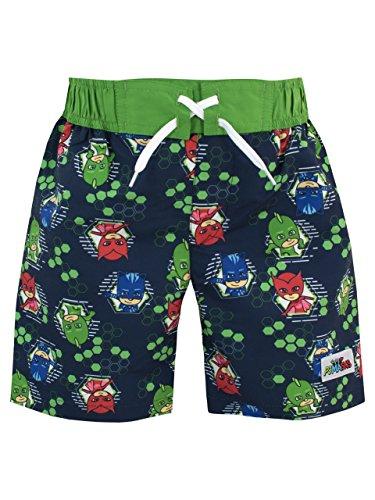 PJ Masks Boys Catboy Owlette & Gecko Swim Shorts