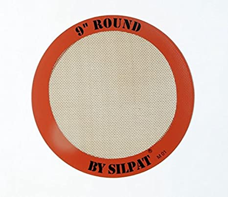 Silpat Round Cake Liner 9 Orange Pack of 2 9 AH-222-02