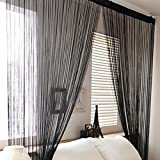 Best Norbi Curtains For Living Rooms - Norbi Window Door Room Divider Line String Curtain Review