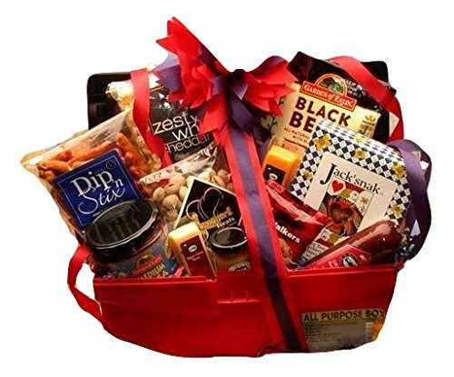 Jack of All Trades Gourmet Grilling Basket -Great Holiday, Birthday, or Father's Day Gift Idea (Sams Chocolate Chip Cookies)